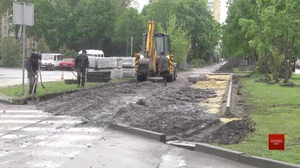 Велодоріжку, яка об'єднає центр Львова та Брюховичі, завершать наступного року
