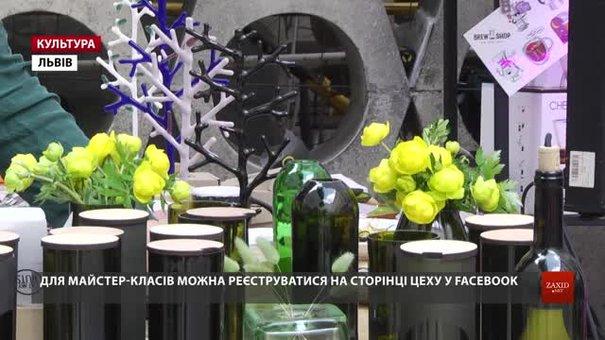 Львівські митці з об'єднання «ЦЕХ» дають нове життя скляним пляшкам