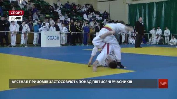 Понад півтисячі спортсменів позмагалися у Львові на міжнародному «Lion judo cup»