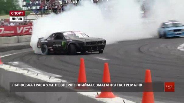 Львів прийняв перший етап Професійної Української Дріфт-серії