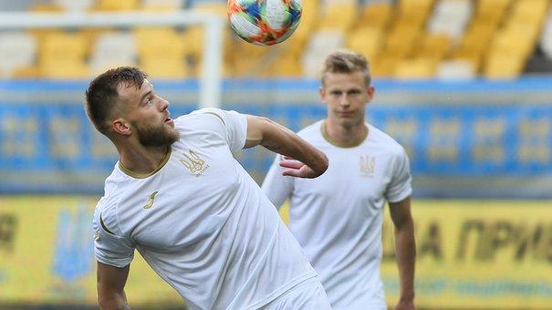 Як збірна України провела тренування на «Арені Львів»
