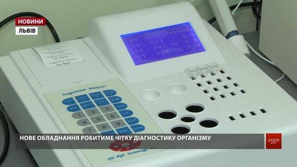 У дитячій лікарні на Орлика відкрили сучасну лабораторію