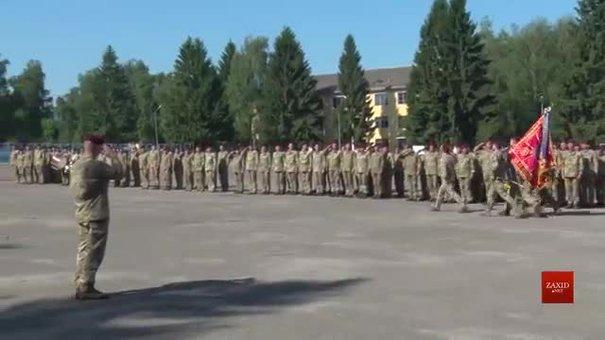 До Львова повернулись дві сотні десантників 80-ї бригади