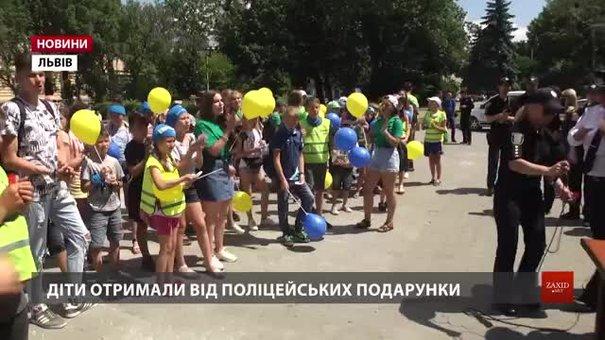 Нацполіція з дітьми відсвяткувала у Львові четверту річницю створення