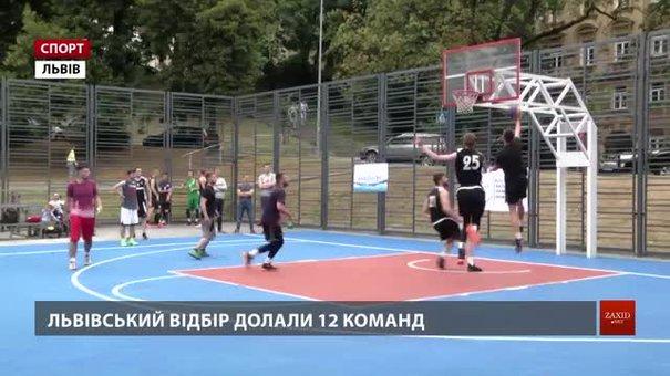У Львові відбувся етап відбору до суперфіналу West FCA Streetball Leage