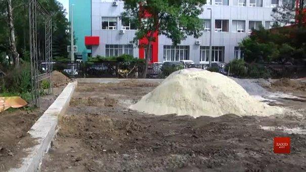 На вулиці Науковій у Львові виявили незаконне будівництво