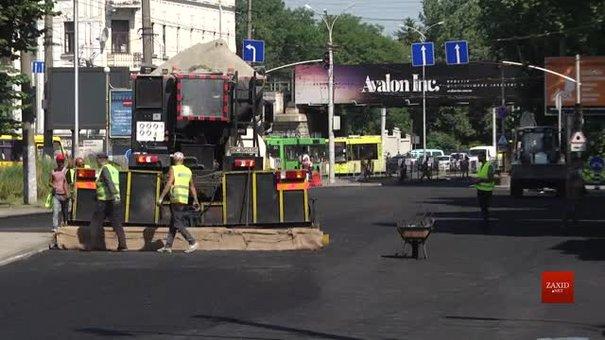 На проспекті Чорновола у Львові змінюють організацію руху