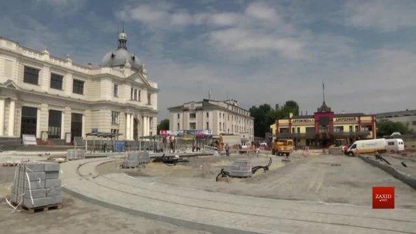 Рух трамваїв до залізничного вокзалу у Львові відновлять до кінця року
