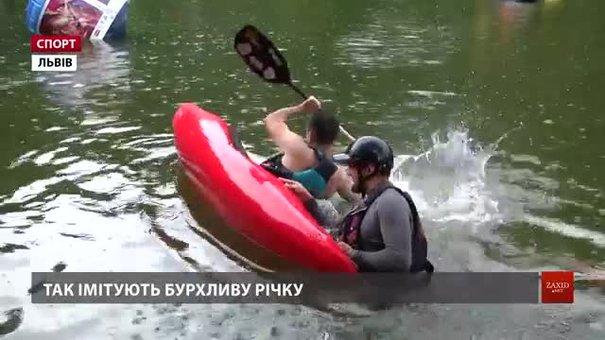 Львівські атлети-аматори об'єдналися у каякерську команду і «з нуля» опанували цей спорт