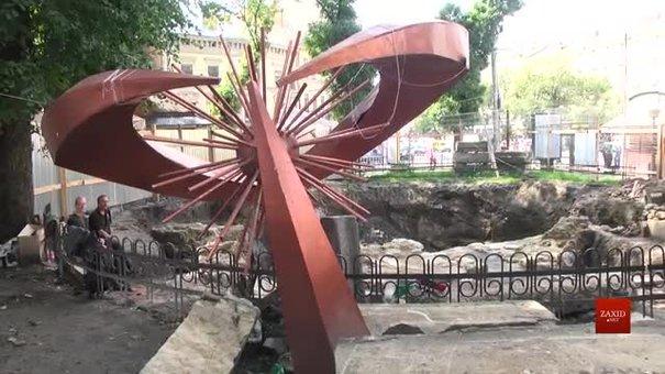 Архітектори перероблять проект реконструкції львівського фонтана, під яким знайшли останки людей