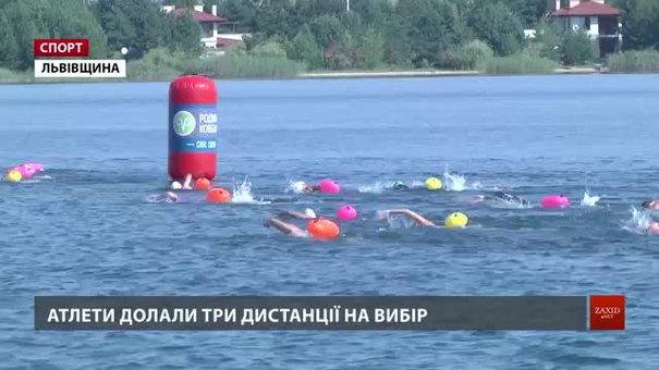 Півтори сотні атлетів взяли участь в унікальному запливі на озері Задорожньому
