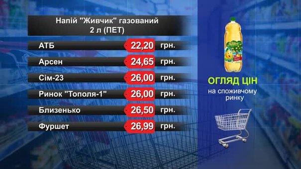 «Живчик». Огляд цін у львівських супермаркетах за 21 серпня