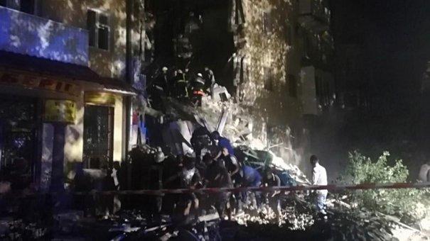 Вночі у Дрогобичі обвалився 4-поверховий житловий будинок