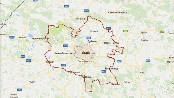 Львів може об'єднатися в агломерацію з приміською зоною вже наступного року
