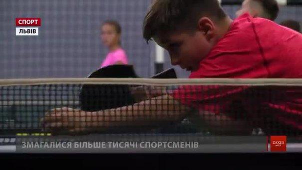 10-річний Олександр Гелета з Львівщини переміг на міжнародному турнірі з настільного тенісу