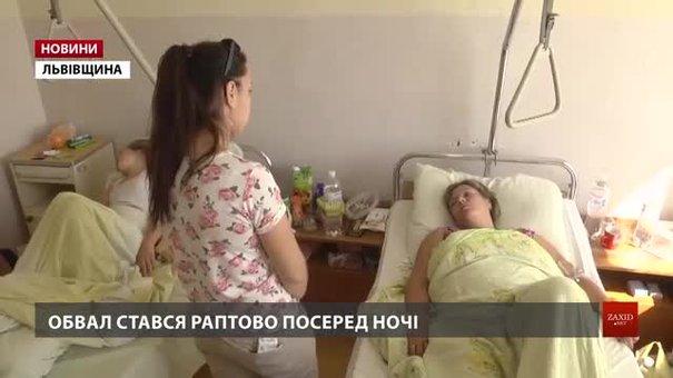 Постраждалі під час обвалу будинку у Дрогобичі розповіли моторошні деталі