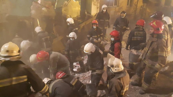 Кількість жертв обвалу будинку у Дрогобичі зросла до восьми
