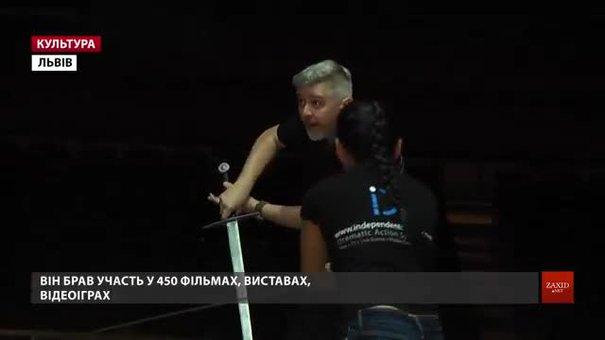 У Львові вперше дав майстер-клас викладач Британської академії сценічного та екранного бою