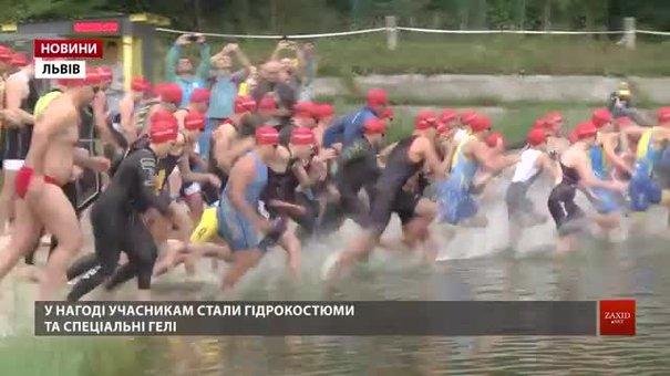 Переможцями відкритого Кубка Львова з триатлону стали Дарин Конісбаєв і Дарина Москаленко