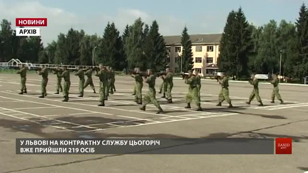У Львові військовим контрактникам платитимуть 25 тис. грн одноразової допомоги
