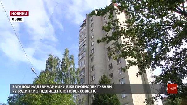 У львівських багатоповерхівках рятувальники перевіряють пожежну безпеку