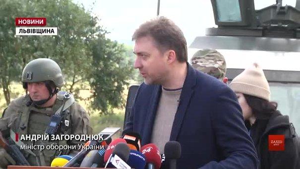 Одностороннього відведення військ на Донбасі не буде, — міністр оборони України