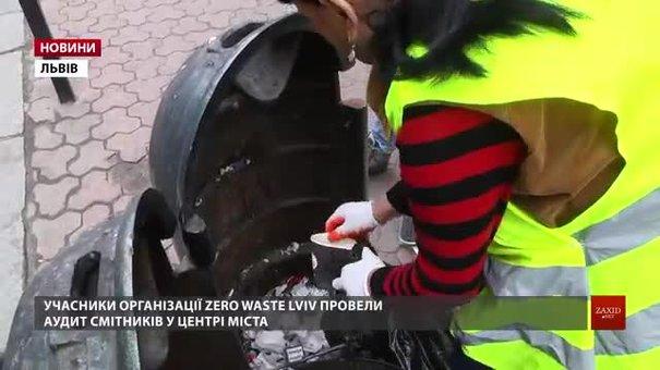 Zero Waste Lviv провели бренд-аудит львівських смітників