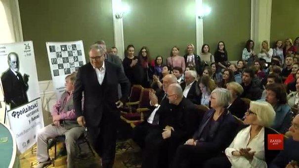 У Львові психотерапевт із Відня Вольфганг Мартін Рот прочитав «фройдівську» лекцію