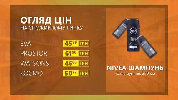 Огляд цін на шампунь Nivea у мережевих магазинах