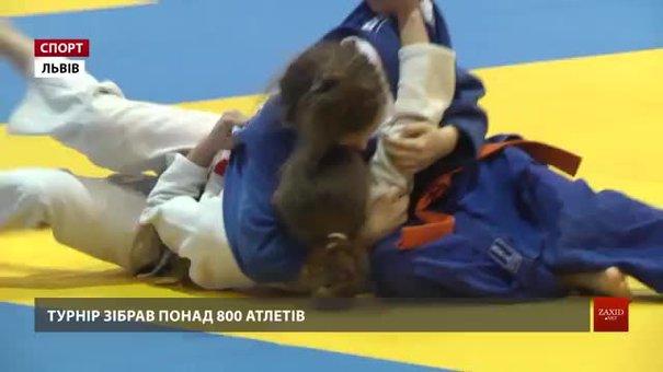 Відбулися наймасштабніші змагання із дзюдо в Україні — відкритий Кубок Львова