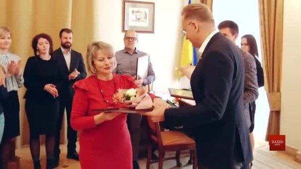 Мер Львова Андрій Садовий привітав працівників соціальної сфери із професійним святом