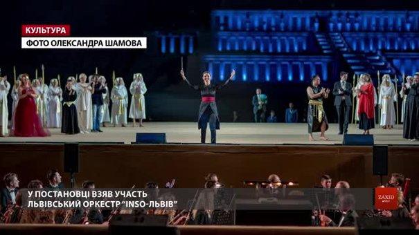 Українці вперше виконали у Єгипті біля давнього храму оперу «Аїда» Джузеппе Верді