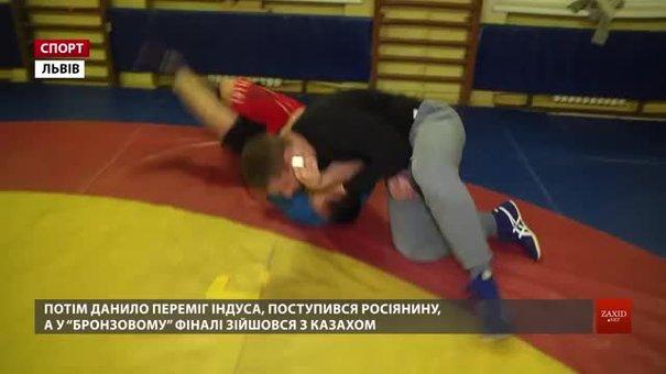 Львівський борець Данило Стасюк завоював «бронзу» на чемпіонаті світу серед молоді