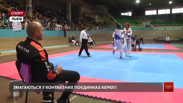 Більше тисячі учасників змагаються на чемпіонаті України з тхеквондо у Львові