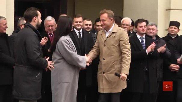 До Дня студента у Львові влаштували інавгурацію нового студентського мера