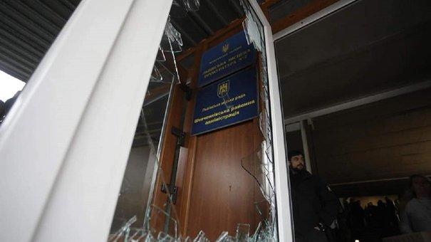 Поліція порушила справу за фактом штурму засідання сесії Львівської міськради