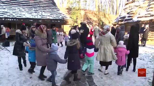 У Шевченківському гаю у Львові триває святкування Різдва