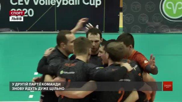 Львівські «Кажани» стартували в 1/8 Кубка ЄКВ проти німецького Hypo Tyrol AlpenValle
