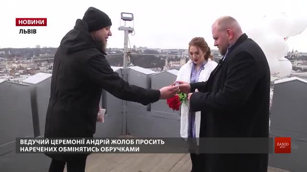 Львівська пара одружилась в прямому ефірі радіо «Люкс ФМ»