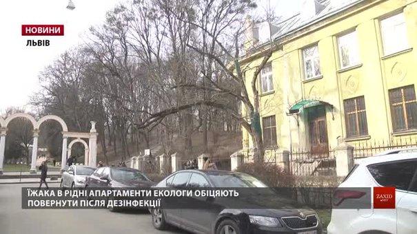 Біля Стрийського парку у Львові лікують сторічну магнолію