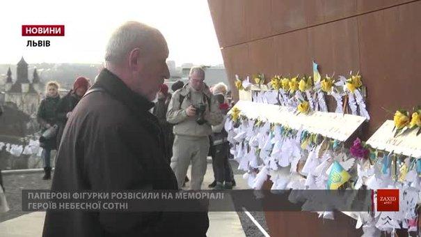 Учасники Революції Гідності згадали події на Інститутській та загиблих Героїв Небесної сотні