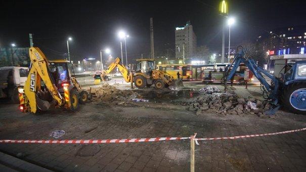 Скандальний МАФ на проспекті Чорновола у Львові демонтували