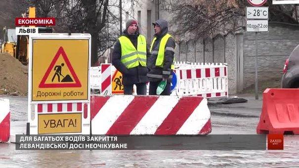 Через перекриття Шевченка у Львові збільшать кількість виділених смуг громадського транспорту