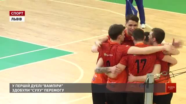 Львівські «Кажани» завершили регулярну частину чемпіонату України на першому місці