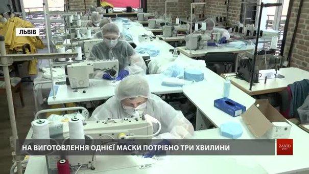 Львівські підприємці почали шити захисні маски