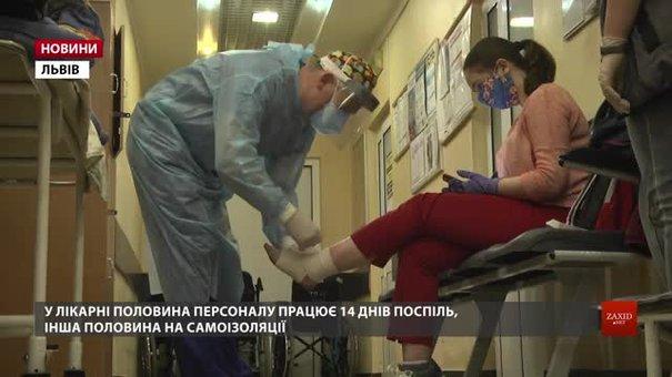 67 працівників львівської лікарні швидкої допомоги захворіли на Covid-19
