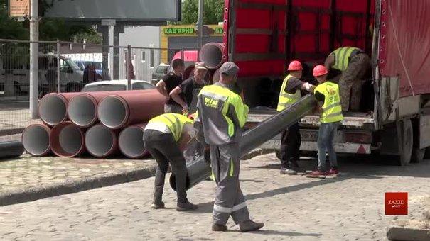 На вул. Чернівецькій триває підготовка до масштабної реконструкції