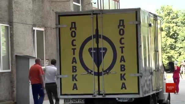 «Епіцентр К»  передав львівській лікарні швидкої допомоги 5 апаратів ШВЛ