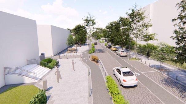 Після ремонту на вул. Пекарській у Львові облаштують двосторонній велосипедний рух