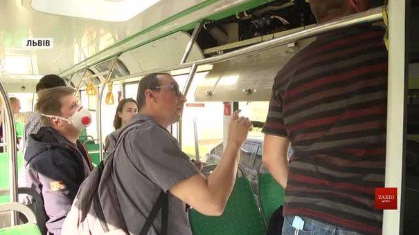Чеські підрядники обстежують громадський транспорт Львова для e-квитка